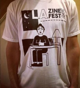 la zine fest tshirt2