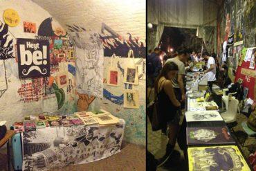 Dünya Gezegenin En iyi Yeraltı Çizgi Roman & Sanatsal Baskı Festivali Roma'da! (VİDEO)
