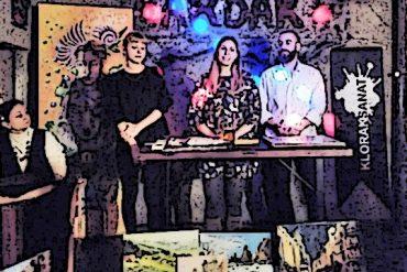 KlorakSanat Mezatı ve Fanzin Masası